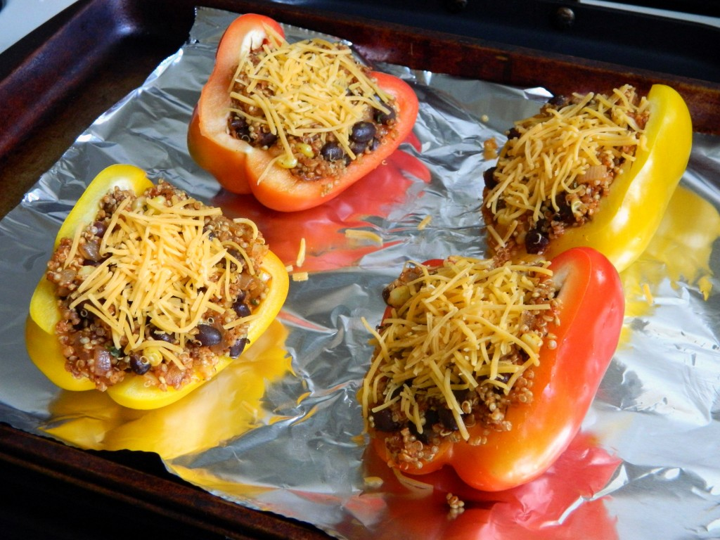some stuffed peppers