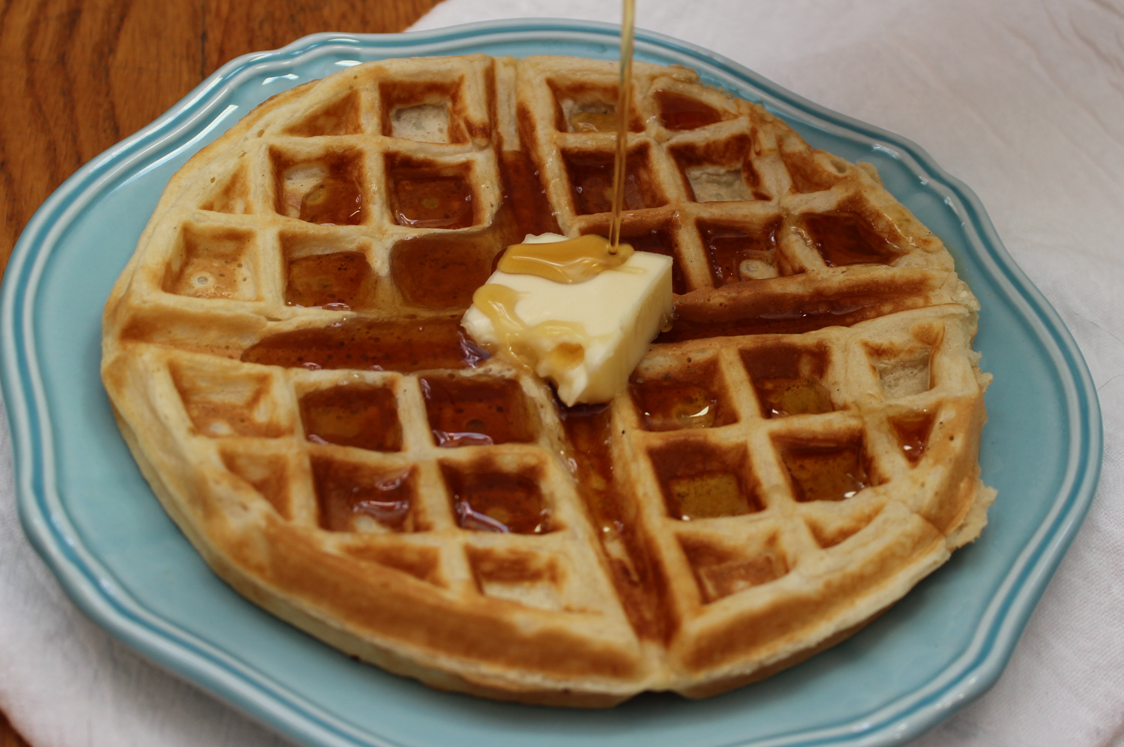 how to cook frozen waffles