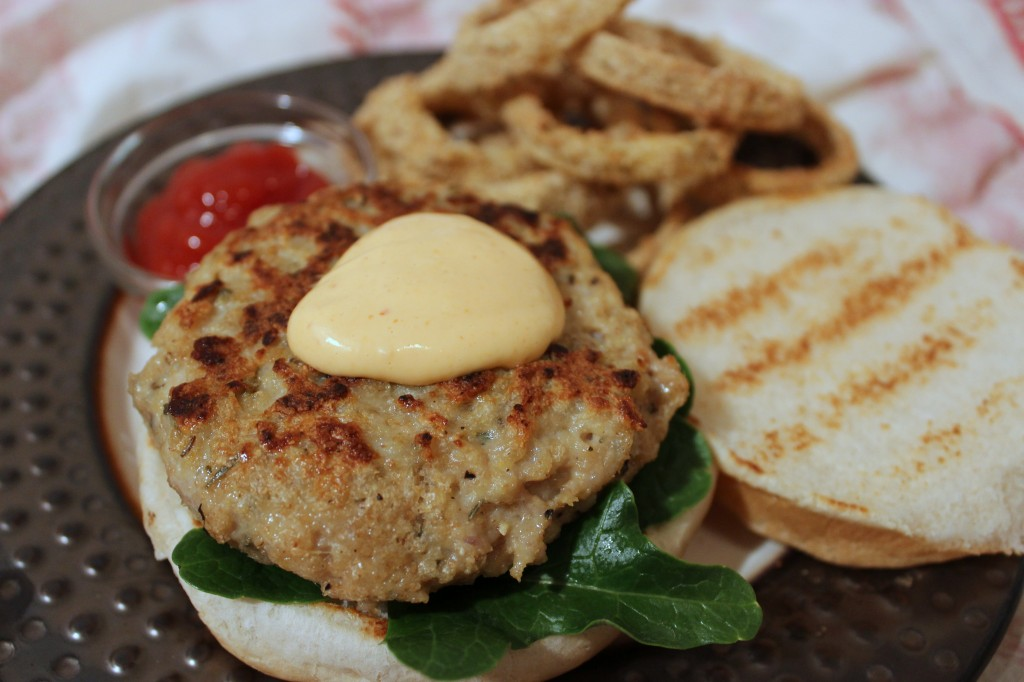 Cooking in College - Turkey/Chicken Burger
