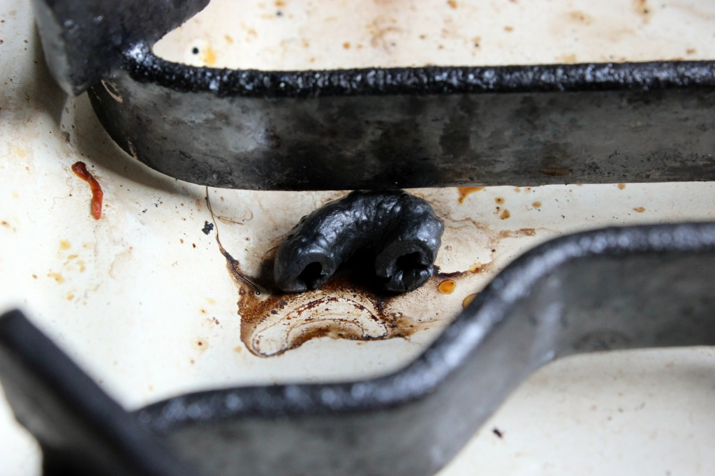 Burnt macaroni