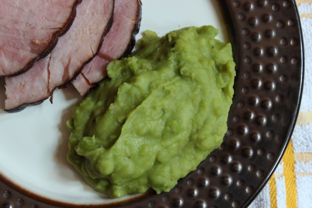 Cooking in College - Mushy Peas